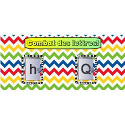 TNI- cartes lettres minuscules et majuscules