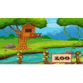 Le zoo en folie! (Les fractions)