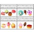 Nombre décimaux - Menu de desserts