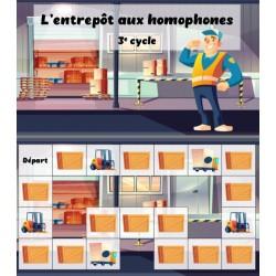 Entrepôt aux homophones