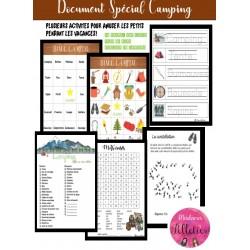 Document spécial Camping