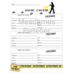 Plan pour situations initiales- récit policier