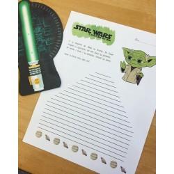 Écriture Yoda - Star Wars - L'écriture du Jedi