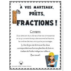 À vos marteaux, prêts, fractions !