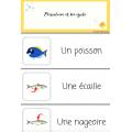Mots étiquettes du poisson d'avril