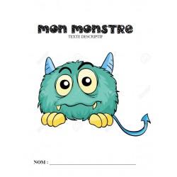 Texte descriptif : Mon Monstre
