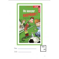 Compréhension de lecture : Du soccer extrême!
