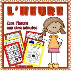 Activité: L'HEURE (bonds de 5 minutes)