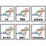 Activité sur les phrases mêlées