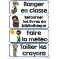 Étiquettes pour la classe (Thème Super-Héros)