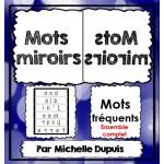 Mots miroirs (Ensemble complet)