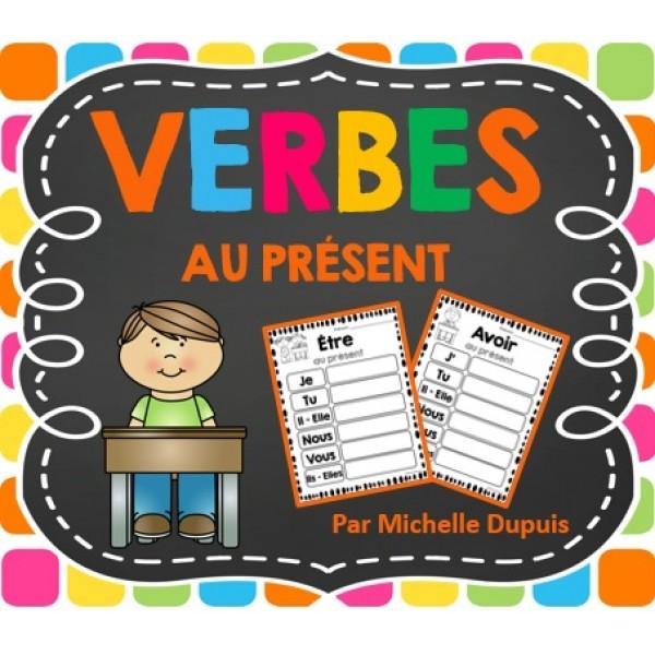 Activités sur les verbes au présent