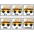 Scrambled Sentences Back to School