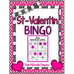 Bingo de St-Valentin - Opérations Cupidon