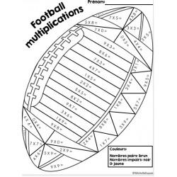 Multiplications football