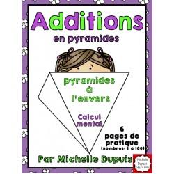 Additions en pyramides