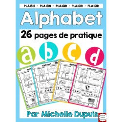 Alphabet - 26 pages à imprimer