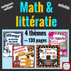 Math et littératie - 4 thèmes
