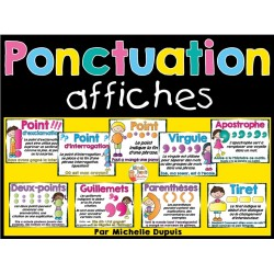 Ponctuation - 9 affiches