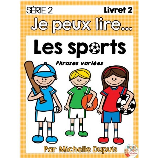 Je peux lire - Les sports