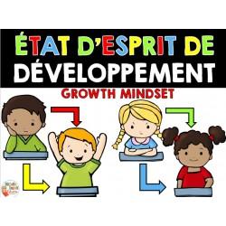 État d'esprit de développement - PENSÉE POSITIVE