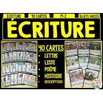 ÉCRITURE - 40 cartes
