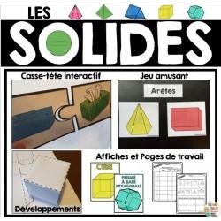Les solides (activités-affiches-fiches) Math