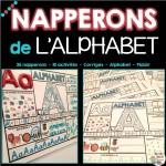 NAPPERONS DE L'ALPHABET