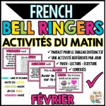 Activités du matin - FÉVRIER - French Bell Ringers