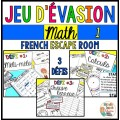 Jeu d'évasion - French Escape Room - MATH 1