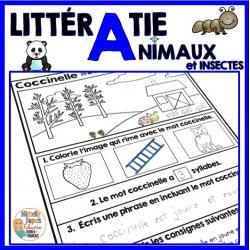 LittérAnimaux - Littératie: animaux - insectes