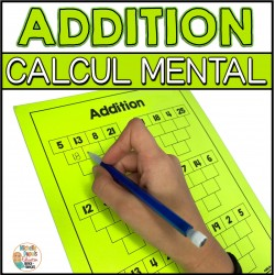 Additions - Calcul mental