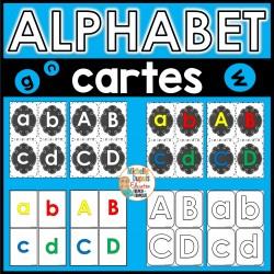 Alphabet - Cartes éclaires
