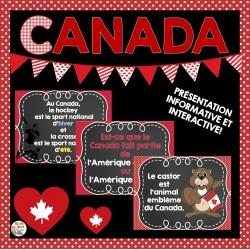 Canada - Présentation informative et interactive