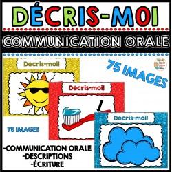 Communication orale - Décris-moi! (75 images)