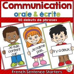 Communication orale et écrite - 50 énoncés
