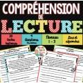 Compréhension de lecture - 20 textes