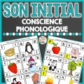 Son Initial - conscience phonologique