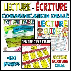 Lecture - Écriture - Communication orale