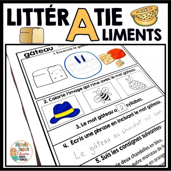 LittérAliments - Activités de littératie