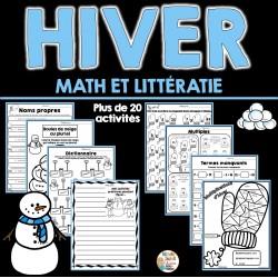 Hiver - Activités de math et littératie