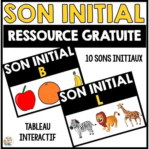 Sons initiaux - GRATUIT
