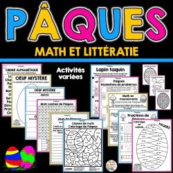 Pâques - Math et littératie