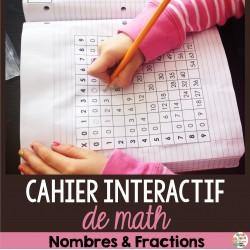 Cahier interactif - Nombres et fractions