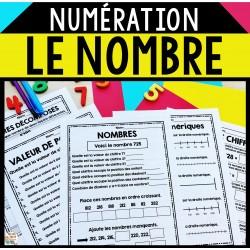 Numération - Sens du nombre