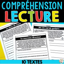 Compréhension de lecture - 10 courts textes