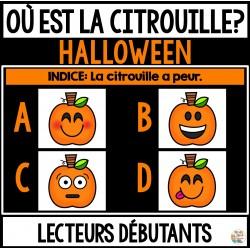 Halloween - Où est la citrouille?