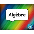 Algèbre (isoler la variable)