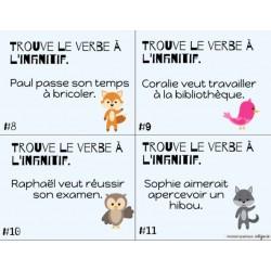 CÀT - l'infinitif des verbes