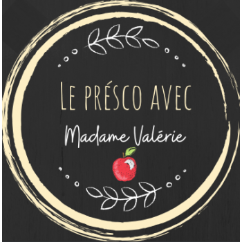 Le présco avec madame Valérie